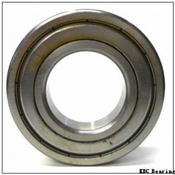 30 mm x 55 mm x 13 mm  KBC 6006DD deep groove ball bearings