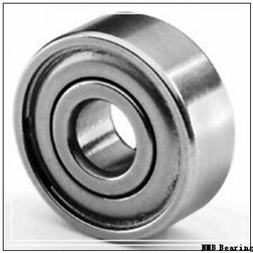 6 mm x 17 mm x 6 mm  NMB RF-1760X2ZZ deep groove ball bearings
