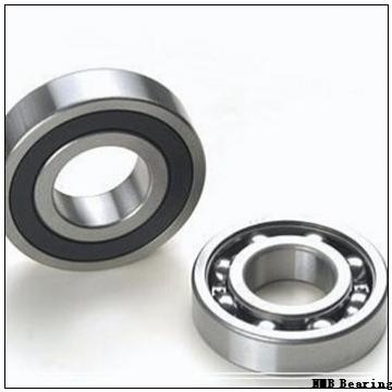 6 mm x 17 mm x 6 mm  NMB RNR-1760X2ZZ deep groove ball bearings