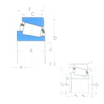45 mm x 95 mm x 35 mm  KBC TR459536HL tapered roller bearings