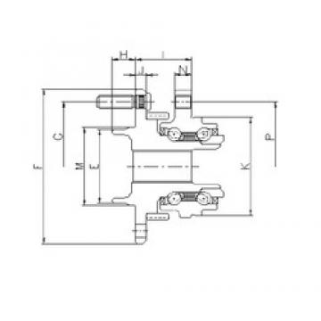 ILJIN IJ113043 angular contact ball bearings