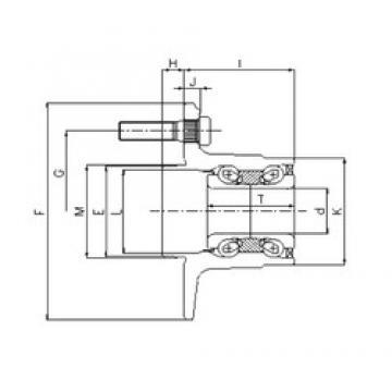ILJIN IJ112036 angular contact ball bearings