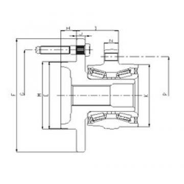 ILJIN IJ223065 angular contact ball bearings