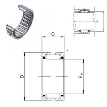 JNS NK22/16 needle roller bearings