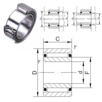 55 mm x 85 mm x 30 mm  JNS NAF 558530 needle roller bearings
