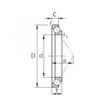 KBC SA0330 angular contact ball bearings