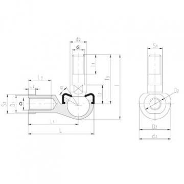 LS SQ12-RS plain bearings