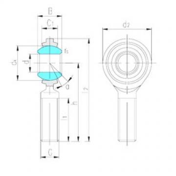 LS SAJ20 plain bearings