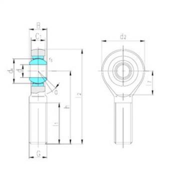 LS SA20C plain bearings