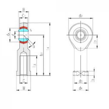 LS SIZP19N plain bearings