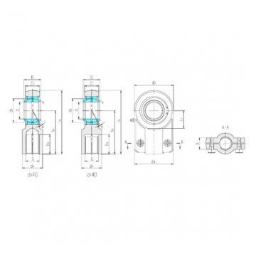 LS SIGEW160ES plain bearings