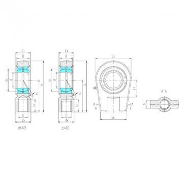 LS SIRN25ES plain bearings