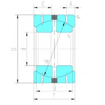 31.75 mm x 61,913 mm x 35,306 mm  LS GEGZ31HS/K plain bearings