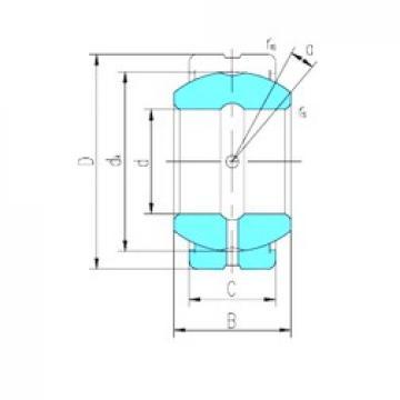 140 mm x 210 mm x 90 mm  LS GE140ES-2RS plain bearings