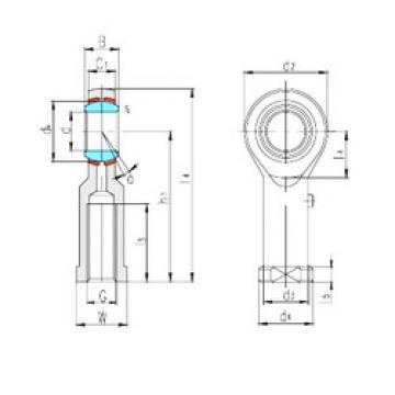 LS SIZP7S plain bearings