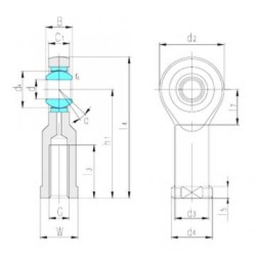 LS SI80ET-2RS plain bearings