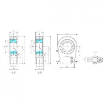 LS SIA60ES plain bearings