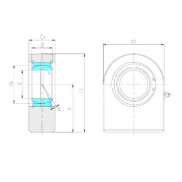 LS SF17ES plain bearings