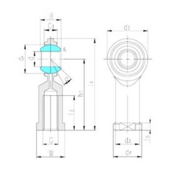 LS SIZJ19 plain bearings
