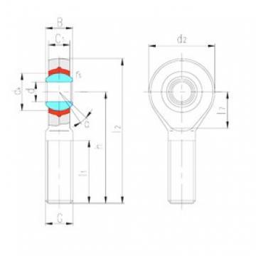 LS SABP10N plain bearings