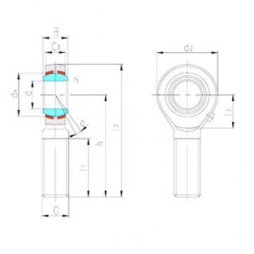 LS SABP5S plain bearings