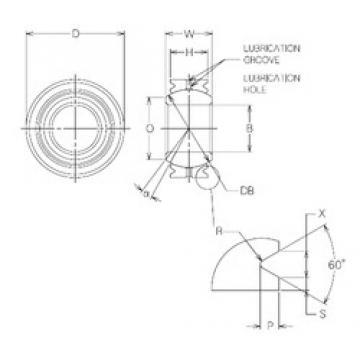 4 mm x 12 mm x 4 mm  NMB MBG4VCR plain bearings
