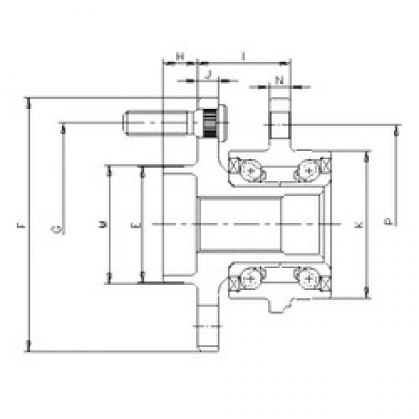 ILJIN IJ113027 angular contact ball bearings #2 image